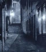 An alley on the ghosts, ghouls and greaveyards walk.