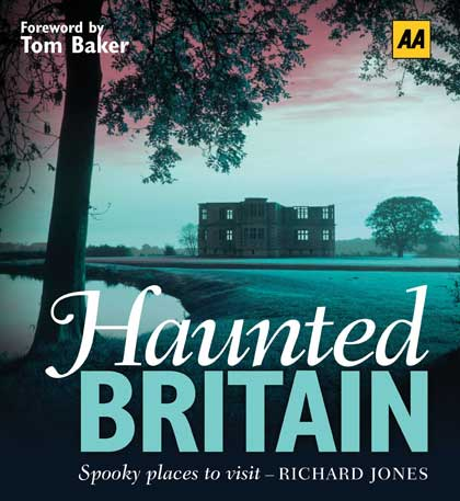 The book cover of Richard's Haunted Britain.