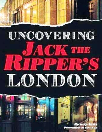 The book cover for Uncovering Jack the Ripper's London.