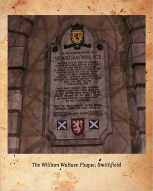 The memorial to William Wallace, Braveheart.